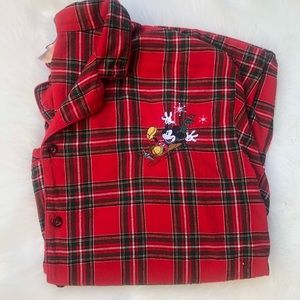 Disney Mickey Mouse Flannel pajama xxl Christmas
